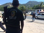 Policía comunitaria de la UPOEG, Guerrero, 2014.