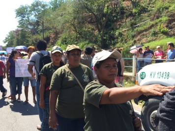 Mujeres de la policía comunitaria de Guerrero, 2014.