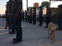 Policía comunitaria de Tixtla, Guerrero, 2014.