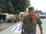 Felipe de Jesús Bartolo, campesino y comandante de la policía comunitaria de Tixtla, Guerrero.