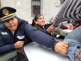 Represión a protestas de jóvenes, México, 2013.