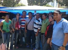 Profesores de la CNTE, acampando en el DF, 2013.