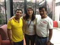 Juan Collazo y Pedro López. Pasaron años injustamente presos pero lograron su libertad y lucharon por el profesor Alberto Patishtan.