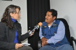Entrevista al profesor tzotzil Alberto Patishtan en la cárcel de Chiapas, 2013.