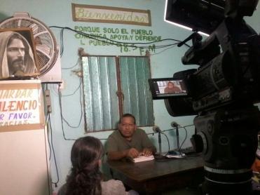 """Radio comunitaria """"La voz de la costa chica"""", Guerrero, México."""