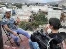 Entrevistando a Sergio Ferrer, Tlapa, Guerrero, 2014.