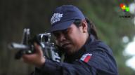 Estrella, integrante de la Guardia Comunitaria de Cherán, Michoacán. 2015. Foto: Miguel Tovar