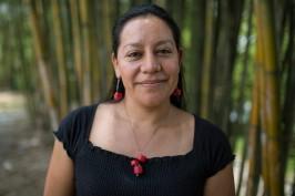 María Luisa Albores, integrante de la cooperativa Tosepan Titataniske. Cuetzalan, México, junio de 2016.