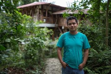 José Gómez, integrante de la cooperativa Tosepan Titataniske. Cuetzalan, México, junio de 2016.