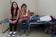 Adolescentes centroamericanas rumbo a Estados Unidos. Ciudad de México.