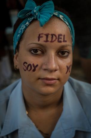 Adiós a Fidel. Cuba, noviembre de 2016. Fotografía de Miguel Tovar.