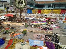 Ruinas en Chimalpopoca y Bolívar, centro de la Ciudad de México, después del terremoto del 19 de septiembre. 2017.