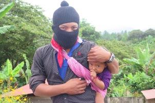 Nuevas paternidades. Bases de apoyo zapatistas. Chiapas, octubre de 2017.