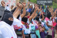 Bases de apoyo zapatistas. Chiapas, octubre de 2017.