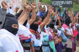 Bases de apoyo zapatistas. Chiapas, octubre de 2017.