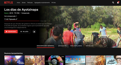 Los días de Ayotzinapa – seriedocumental